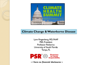 Climate Change and Waterborne Disease