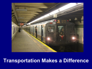 How Transportation Makes a Difference